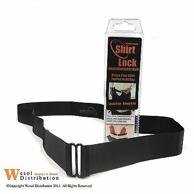 Great Alternative To Shirt Stays!  Multiple Sizes, Black by Wesol Distribution