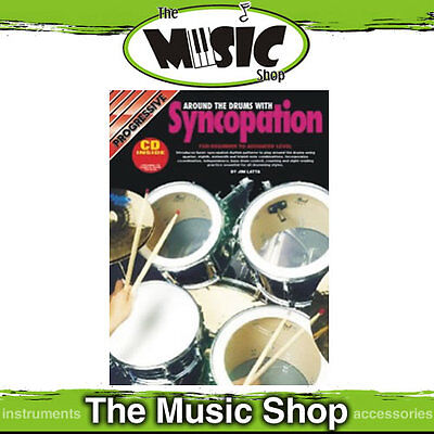 New Progressive Drum Syncopation Book By Jim Latta - Book & CD Package