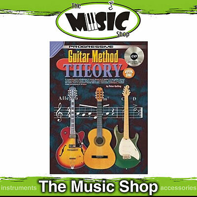 Progressive Guitar Method Theory Book & CD Package by Peter Gelling - New