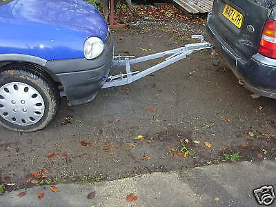 1.8ton SOLO/SINGLE PERSON USE RECOVERY A FRAME TOWING DOLLY TRAILER  TOW BAR