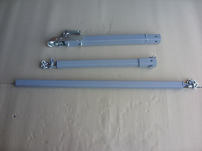 3.5ton ext'd RECOVERY DOLLY TOW BAR TOWING POLE A FRAME 2.2m long 3 PIECE