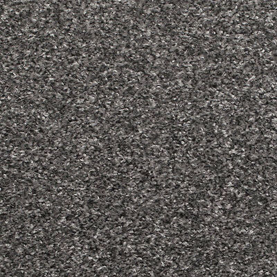 Silver Grey Flecked Carpet 4M & 5M Wide Hardwearing Heathered Twist Pile Lounge