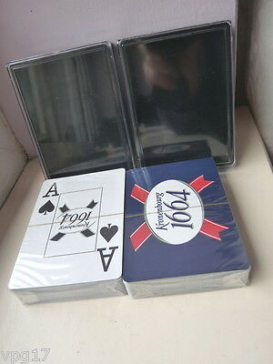 Sealed Pack  Playing Cards With Kronebourg 1664  2Pks