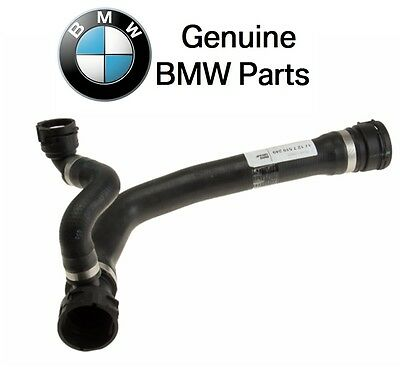 BMW E60 545i Manual Transmission Radiator Upper Coolant Hose From Pump Water REI