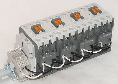 New Cerus 12 pole 32A 120V Electrically Held Lighting Contactor MRC32