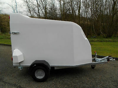 NEW Box Van Trailer / ANY COLOUR / CHOICE OF DOOR / DELIVERY AVAILABLE