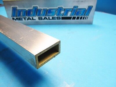 "3/4"" x 1-1/2"" x 24""-Long x 1/8"" Wall 6063 T52 Aluminum Rectangle Tube"