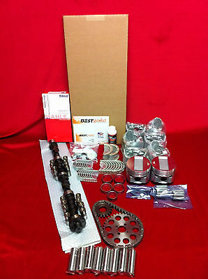 Cadillac 365 master engine kit late 57 1958 pistons cam bearings timing gaskets+