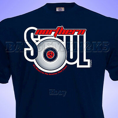 NORTHERN SOUL T SHIRT WIGAN CASINO SCOOTERS THE TORCH MOTOWN STAX MODS LAMBRETTA
