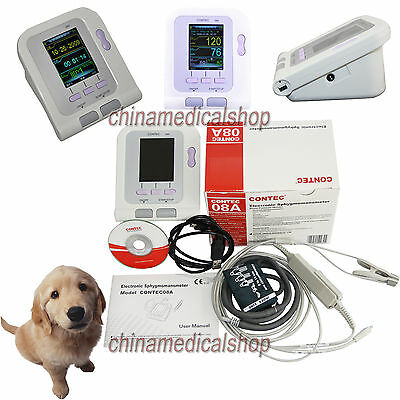 Vet Veterinary Full Digital Blood Pressure Monitor SPO2 pulse rate with software