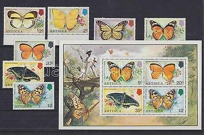 Antigua & Barbuda stamp 1975 MNH Butterflies WS92668