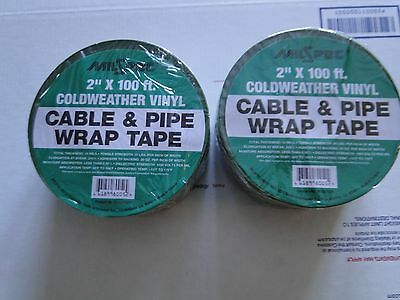 2 Cable Pipe Wrap Tape Heavy Duty Submersible Water Well  Pump Vinyl Ms021020