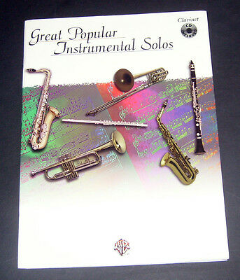 100 SOLOS FOR Clarinet - Popular Sheet Music Book NEW