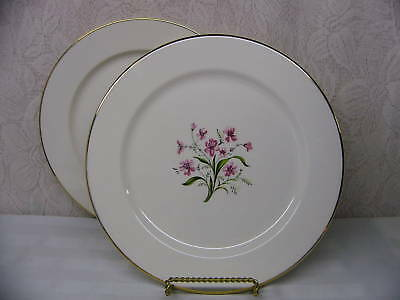 KNOWLES CHINA*SPRING SONG*2 DINNER PLATES