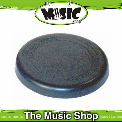 """Powerbeat 8"""" Rebound Drum Rubber Practice Pad - Ruber Mute Pad for Quiet Playing"""