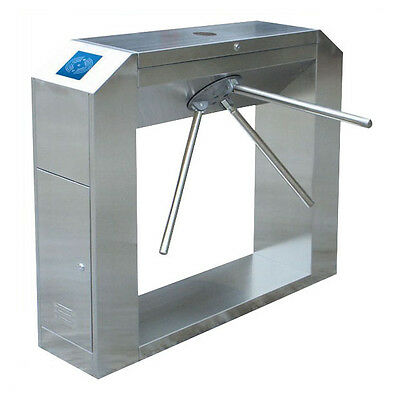 Semi-Auto Bridge Style Tripod Turnstile With Baseplate