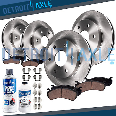 See Desc. 2000 Buick Park Avenue OE Replacement Rotors w//Ceramic Pads F