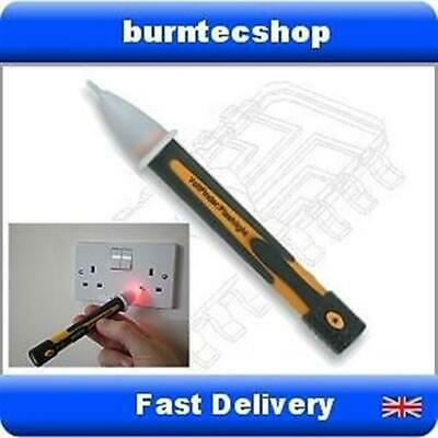 AC Voltage Detector Pen - Non-contact Built-in LED light Detects Mains Walls