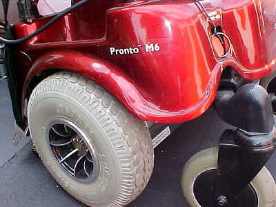 Invacare Pronto m6 parts. Main shroud body cowling cover red
