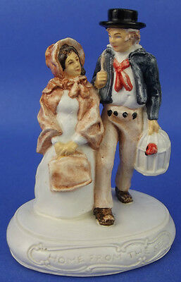 Sebastian Miniature SML-365 Home From the Sea 1981 Red Sticker Sailor Couple