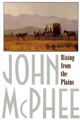 Rising from the Plains by John McPhee (English) Paperback Book Free Shipping!