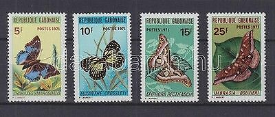 Gabon stamp MNH Butterflies Insects Nature WS92985