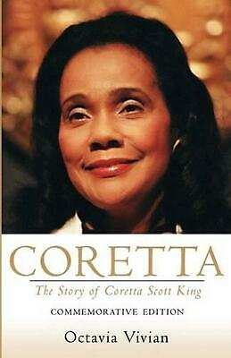 Coretta: The Story of Coretta Scott King by Octavia Vivian (English) Paperback B