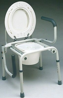 Silla Wc Con Cubeta Orinal Inodoro Altura Regulable