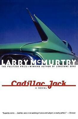 Cadillac Jack by Larry McMurtry (English) Paperback Book Free Shipping!