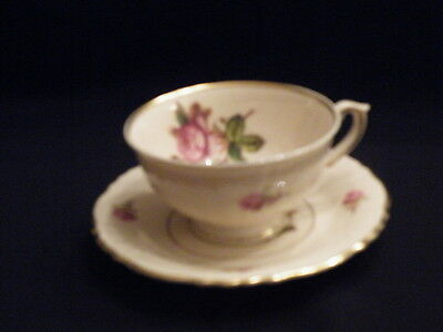 Syracuse China VICTORIA Cup and Saucer  (MINT)