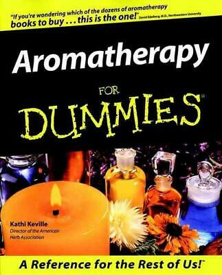 Aromatherapy for Dummies by Kathi Keville (English) Paperback Book Free Shipping