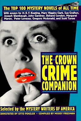 The Crown Crime Companion: The Top 100 Mystery Novels of All Time by Mystery Wri