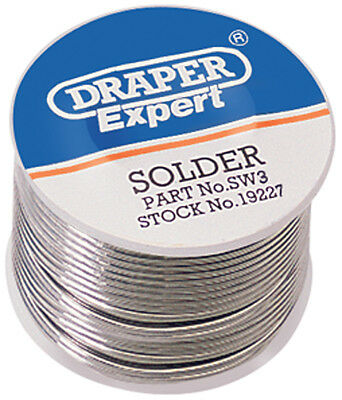 Draper 250G Reel Of K60 40 Tin  Lead Solder Wire - Free Delivery (DRA19227)