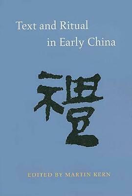 Text and Ritual in Early China by Martin Kern (English) Paperback Book Free Ship