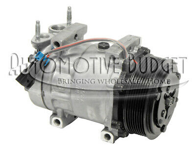 A/C Compressor w/Clutch for Sanden 4418 - NEW