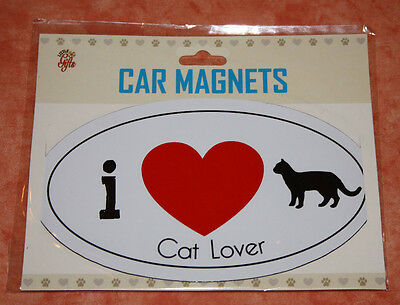 Magnet - Aimant Voiture Frigo Chat Cat Lover