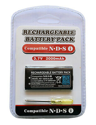 Replacement 850 MAH 3.7 V Li-ion Rechargeable Console Battery for Nintendo Dsi