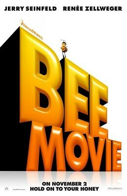 BEE MOVIE ORIGINAL MOVIE POSTER 2 Sided Ver C 27x40
