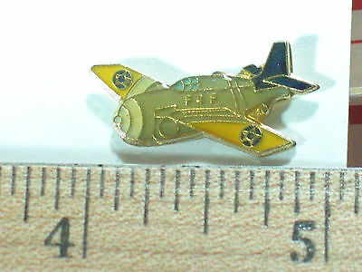 Vintage F-4F Wildcat Fighter Military Aircraft Pin