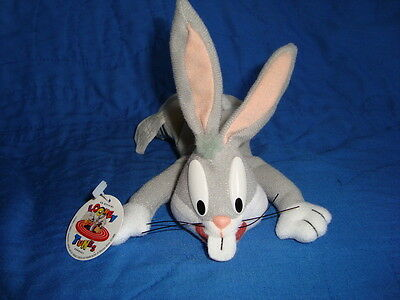 "Bugs Bunny Looney Tunes Play by Play Plush Beanbag 7""L"