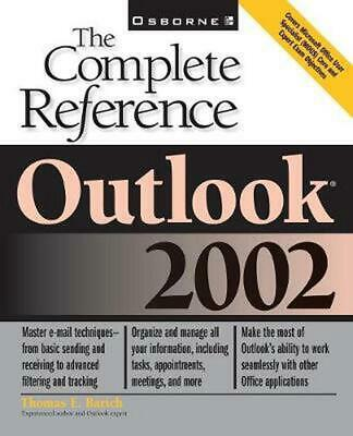 Outlook: The Complete Reference by Thomas E. Barich (English) Paperback Book Fre