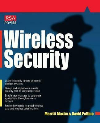 Wireless Security by Merritt Maxim (English) Paperback Book Free Shipping!
