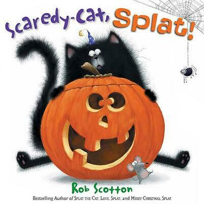 Scaredy-Cat, Splat! by Rob Scotton (English) Hardcover Book Free Shipping!