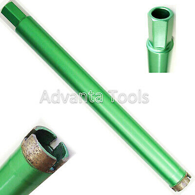"1-1/8"" Wet Diamond Core Drill Bit for Concrete w/ 5/8""-11 Threads -Premium Green"