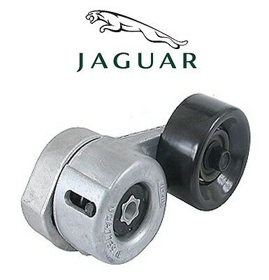 Jaguar Vanden Plas XJR XKR XJ8 XK8 Belt Tensioner With Metal Pully Genuine