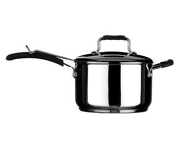 New 22Cm Stainless Steel  Chip Pan With Basket Tenzo