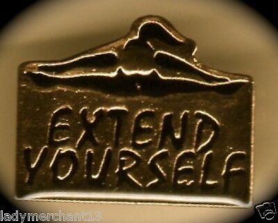 """EXTEND YOURSELF"" LAPEL PINS (WHOLESALE LOT OF 25) All New!"