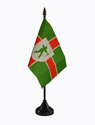 Nottinghamshire TreeFlag 5x3ft Flag Poles Or Windsocks Poles.With FREE BALL TIES