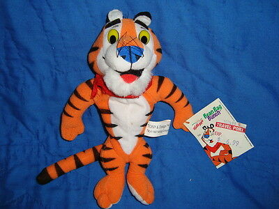 1998 Kellogg's Tony The Tiger Plush Bean Bag Bunch 8""