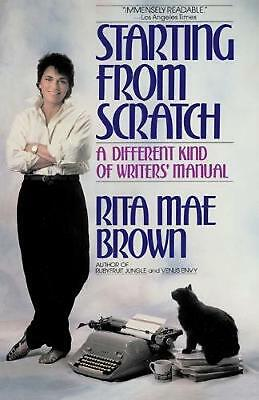 Starting from Scratch by Rita Mae Brown (English) Paperback Book Free Shipping!